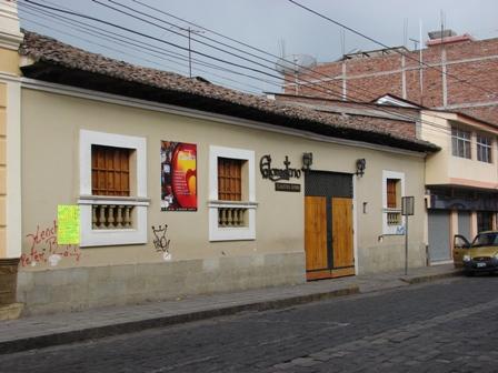La casa mantuvo el estilo tradicional de un piso.
